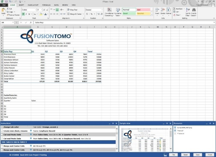 Excel 2016 - MOS Exam Certification - YouTube