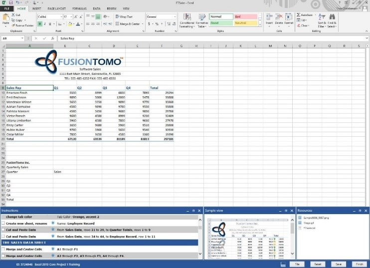 Gmetrix For Microsoft Office Specialist Full Suite